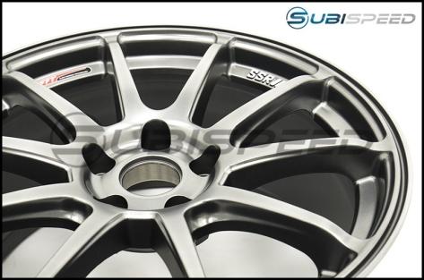 SSR GTV02 Phantom Silver 18x9.5 +45mm - 2015+ WRX / 2015+ STI