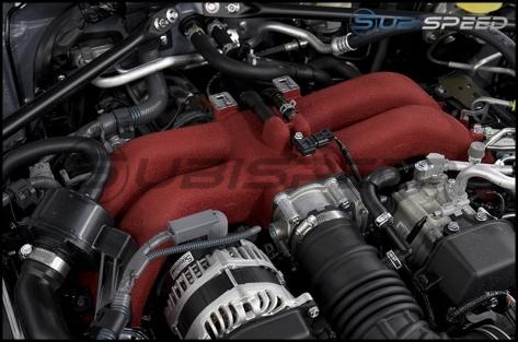 Subaru / Toyota Red Intake Manifold - 2013+ BRZ