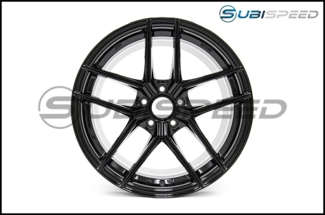 Enkei TY5 18x9.5 +35mm Gloss Black - 2015+ WRX / 2015+ STI