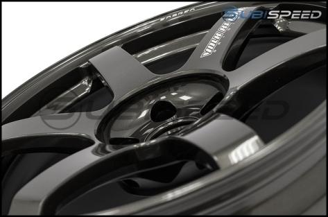 Volk TE37 SAGA Diamond Dark Gunmetal 18x9.5 +43 - 2013+ FR-S / BRZ / 86 / 2014+ Forester