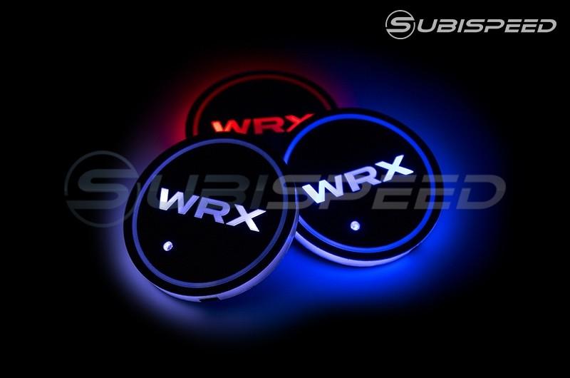 GCS WRX Style LED Light Up Coasters