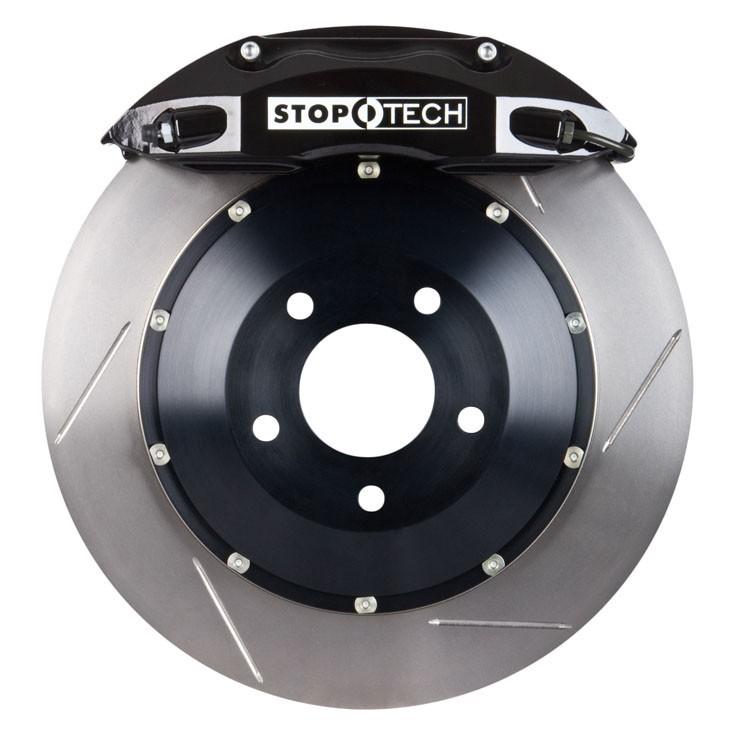 Stoptech 355x32 Big Brake Kit Slotted / Black (Front)