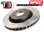 DBA Slotted T3 Rotors - 2013+ FR-S / BRZ