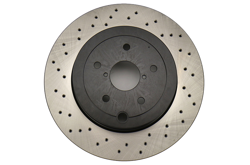 Stoptech Drilled Brake Rotor Single Rear