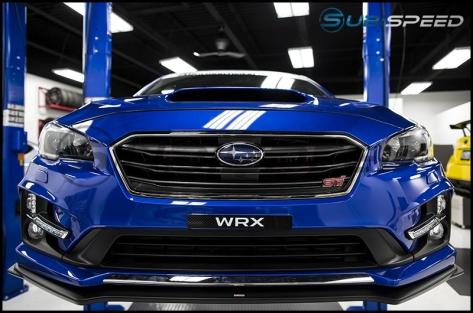 RSP White WRX Logo License Plate Delete