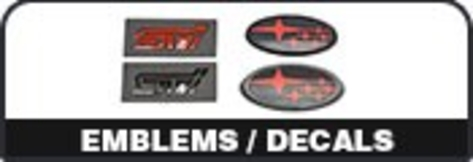 Emblems and Decals