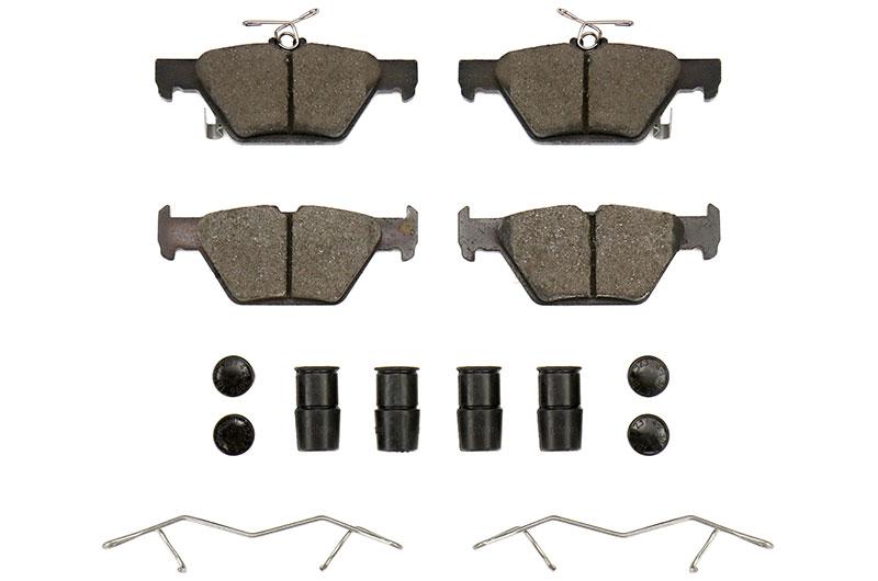 Stoptech PosiQuiet Ceramic Brake Pads Rear