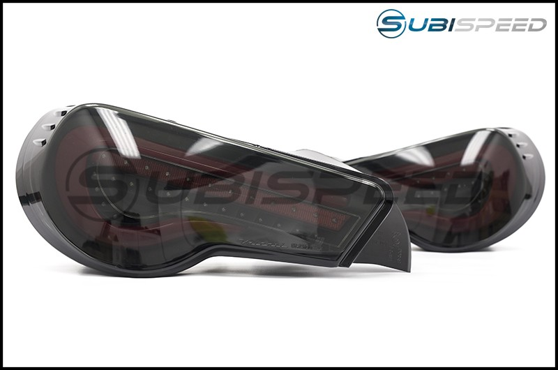 OLM VL Style / Helix Sequential Black Lens Tail Lights (Black Edition)