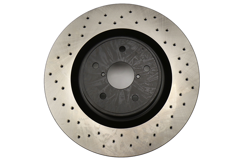 Stoptech Drilled Brake Rotor Single Front