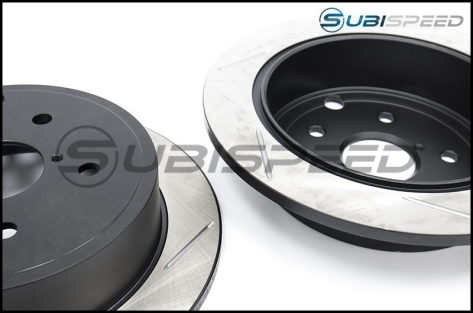 StopTech Slotted Sport Rotors (rear) - 2015+ WRX