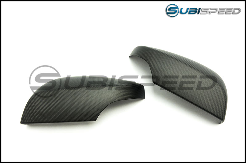 OLM S-line Dry Carbon Fiber Mirror Covers (with Turn Signal Hole)
