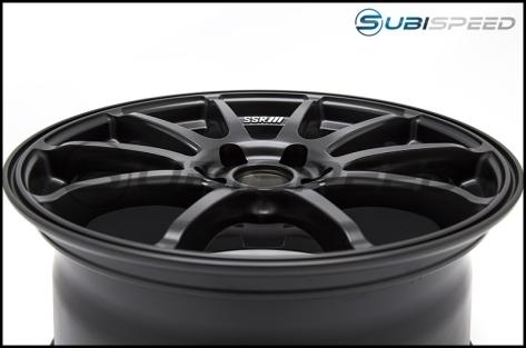 SSR GTV02 Flat Black 18x9 +45mm - 2015+ WRX / 2015+ STI