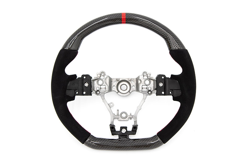 FactionFab Carbon and Suede Steering Wheel