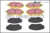 EBC Yellowstuff  Brake Pads (Front) - 2015+ WRX / 2005+ Legacy / 2010+ Outback