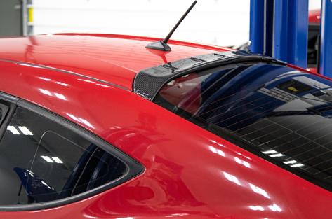 OLM Carbon Fiber Aggressive Style Rear Roof Spoiler - 2013+ FR-S / BRZ / 86