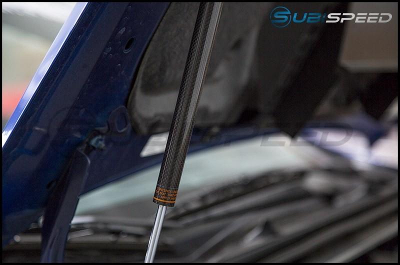 OLM Carbon Fiber Hood Struts