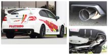 Fujitsubo Authorize RM Cat Back Exhaust - 2015-2020 Subaru WRX & STI
