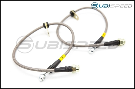FactionFab Stainless Steel Brake Lines - 2015+ WRX / 2015+ STI