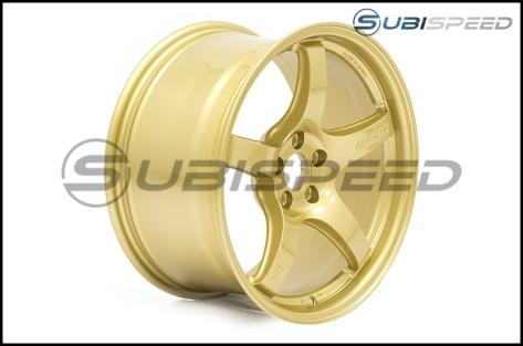 Rays Gram Lights 57CR E8 Gold 17x9 +38 - 2013+ FR-S / BRZ / 86 / 2014+ Forester