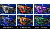 Diode Dynamics Multicolor LED Board W/ RGB/RGBW Controller - 2013-2016 BRZ