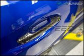 OLM S-line Dry Carbon Fiber Door Handle Covers - 2015-2021 Subaru WRX & STI / 2014-2018 Forester / 2013-2017 Crosstrek