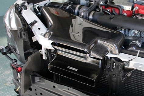 ChargeSpeed Air Intake Duct (FRP) - 2015+ WRX / 2015+ STI