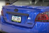 OLM E Series Paint Matched Trunk Lip Spoiler - 2015-2020 Subaru WRX & STI