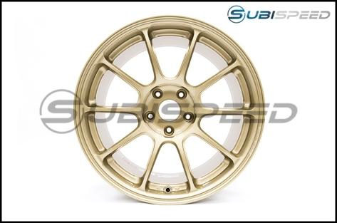 Volk ZE40 Gold 18x9.5 +45 Face 2 - 2015+ WRX / 2015+ STI