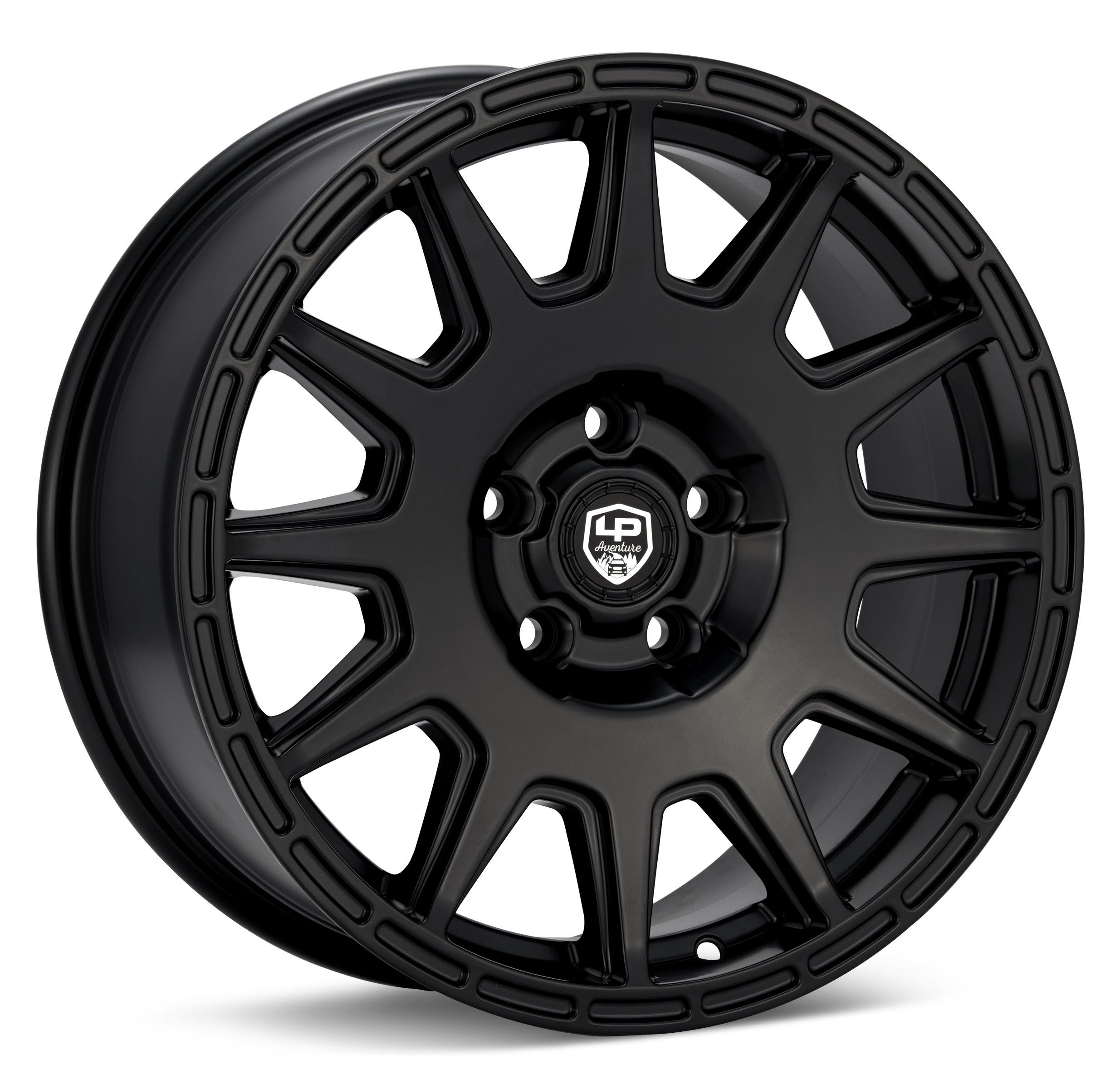 LP Aventure Wheel 17X7.5 +35 5x114.3 Matte Black
