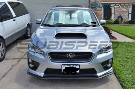 2018 Style Bumper Overlay (Upper / Lower) - 2015-2018 WRX / 2015-2018 STI