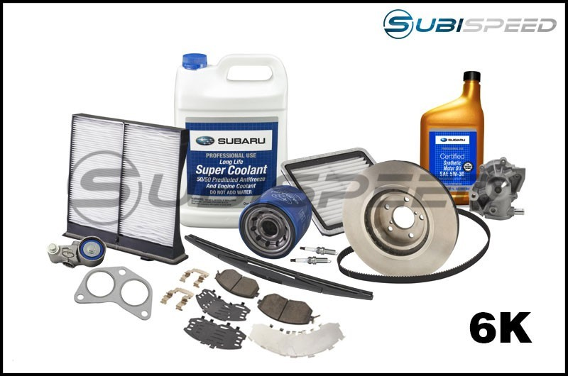 Subaru 6,000 Mile Maintenance Kit - 2015+ STI