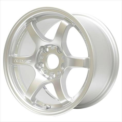 Rays Gram Lights 57DR Silver 18x9.5 +38 Wheels - 2015+ WRX / STI